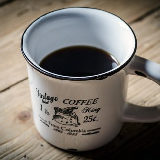 coffee mug retro